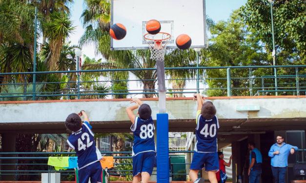 Basket e bambini: a che età iniziare