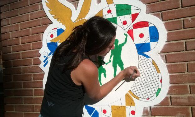 Sporting'Art   Realizzati i primi due murales