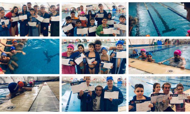Brevetti di scuola nuoto – le foto
