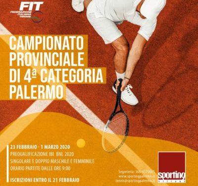 TORNEO BNL IV Categoria – Campionato provinciale SM/SF/DM/DF