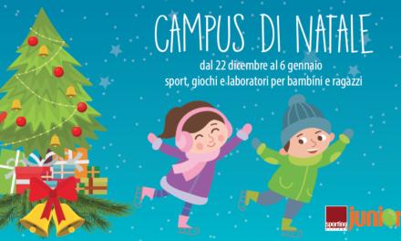 Campus di Natale allo Sporting: vacanze tra sport e divertimento