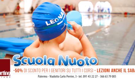 Scuola Nuoto allo Sporting: iscrizioni aperte