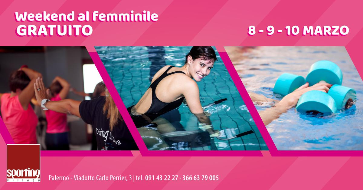 Weekend al femminile: attività gratuite allo Sporting