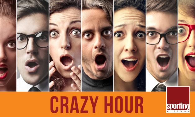 Crazy Hour: promo 24 maggio