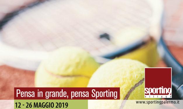 Tennis – III Torneo Open Sporting Village M/F – 12-26 maggio 2019