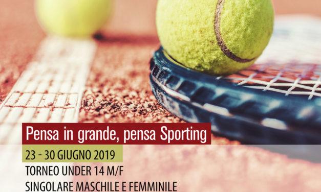 Tennis – Torneo Under 14 Sporting Village M/F – 23-30 giugno 2019