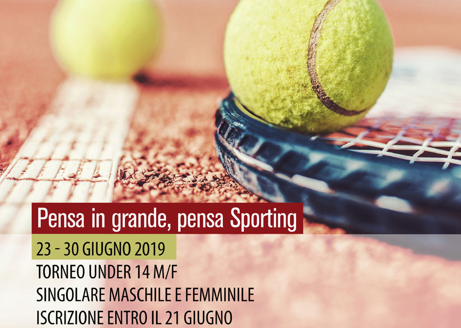 Tennis – Torneo Under 14 Sporting Village M/F – 23-30 giugno 2019
