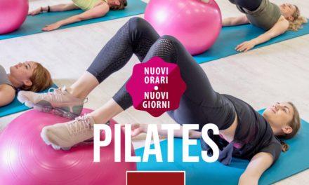 Pilates anche al Mattino – Nuovo orario
