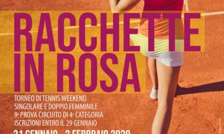 Torneo IV Categoria  Racchette in Rosa